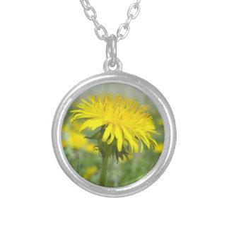 Yellow Dandelion Pendant
