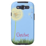 Yellow Dandelion Samsung Galaxy Case-Mate Case Galaxy S3 Case