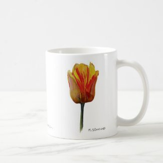Yellow Darwin Series Tulip Mug