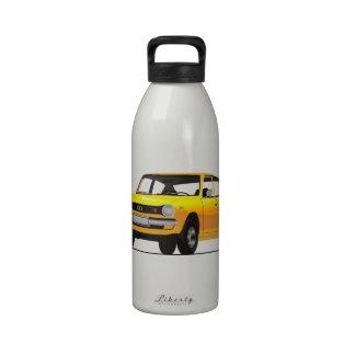 Yellow Datsun Cherry (E10) Reusable Water Bottle