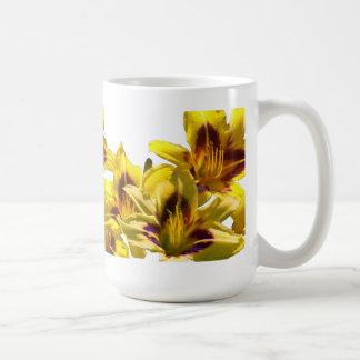 Yellow Day Lilies Mug