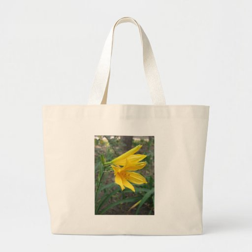 Yellow Daylily 4 Tote Bags