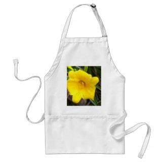 Yellow Daylily Adult Apron