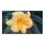Yellow Daylily Business Card