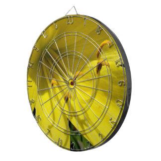 Yellow Daylily Dart  Board Dart Board