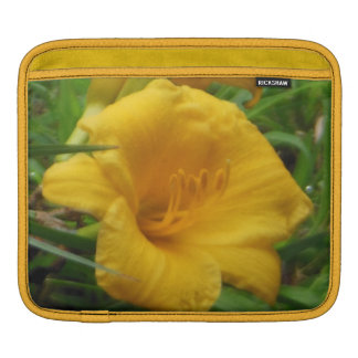 Yellow DayLily Floral Sleeve For iPads