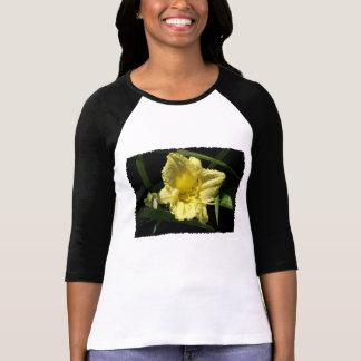 Yellow Daylily Flower Shirt