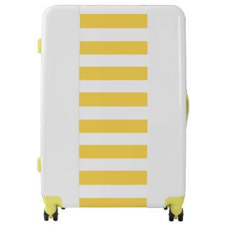 Yellow Deckchair Stripes Luggage