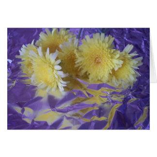 Yellow Desert Wild Flowers Greeting Cards