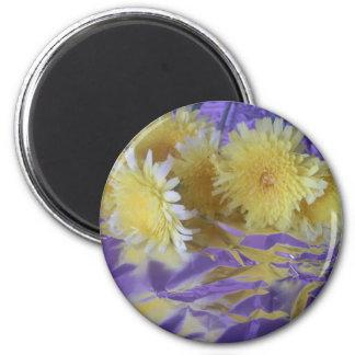Yellow Desert Wild Flowers Magnet