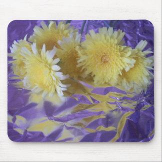 Yellow Desert Wild Flowers Mouse Pad