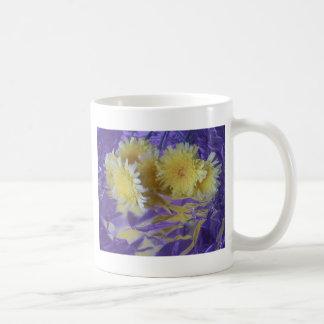 Yellow Desert Wild Flowers Mugs