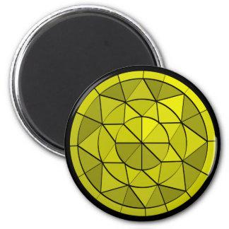 Yellow Diamond Gem Jewel Magnet