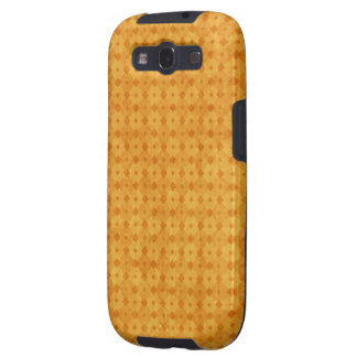 Yellow Diamond Pattern Galaxy S3 Case