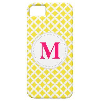 Yellow Diamonds iPhone 5 Case