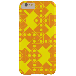 Yellow Dice Barely There iPhone 6 Plus Case