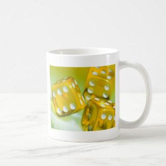 Yellow Dice Coffee Mug