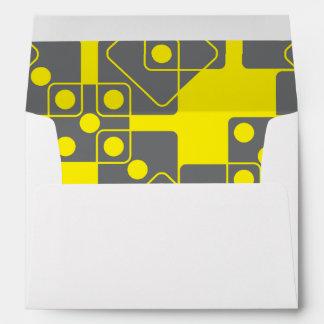 Yellow Dice Envelopes