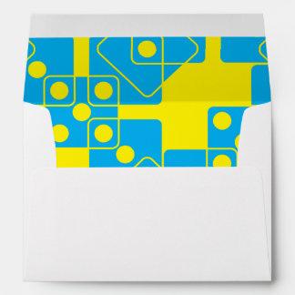 Yellow Dice Envelope