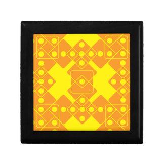 Yellow Dice Jewelry Box