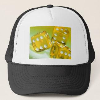 Yellow Dice Trucker Hat