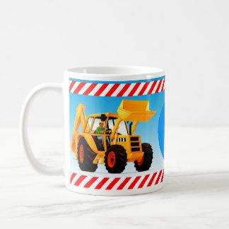 Yellow Digger 6th Birthday Classic White Coffee Mug