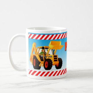Yellow Digger 7th Birthday Classic White Coffee Mug