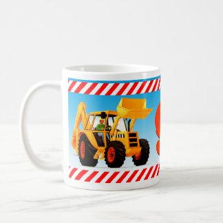 Yellow Digger 9th Birthday Classic White Coffee Mug