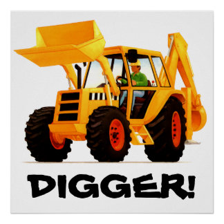 Yellow Digger Posters