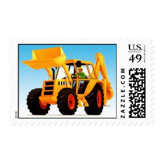Yellow Digger Stamp