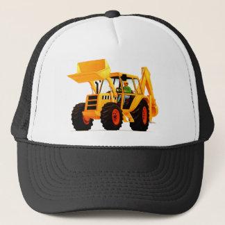 Yellow Digger Trucker Hat