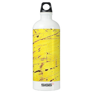 Yellow Digital Art Beautiful Design Style Fashion Aluminum Water Bottle