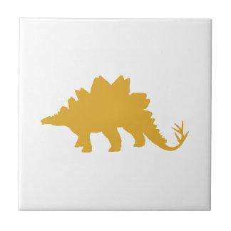 Yellow Dinosaur Tile