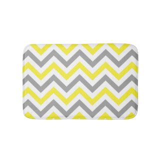 Light Yellow Bathroom Rugs gray and yellow chevron bath rug | roselawnlutheran