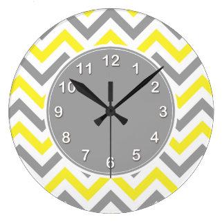 Yellow Wall Clocks Zazzle