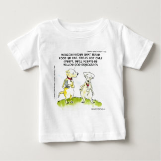 Yellow Dog Democrats Funny Baby T-Shirt