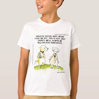 Yellow Dog Democrats Funny T-Shirt