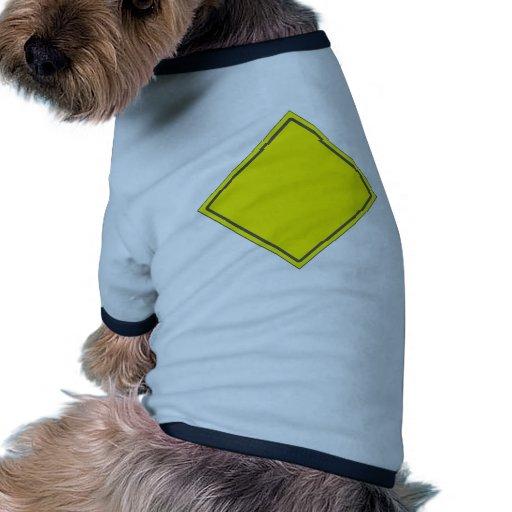 YELLOW DOG DO NOT DISTURB SIGN PET SHIRT