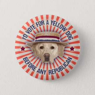 Yellow Dog II Pinback Button