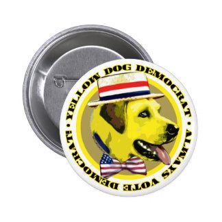 Yellow Dog Logo Button