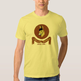 Yellow Donkey Disco Bar Tee Shirt