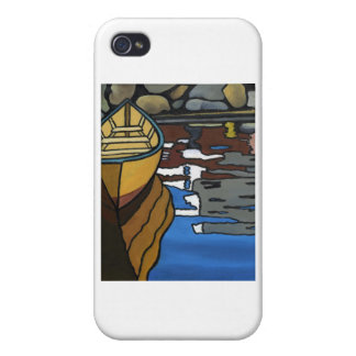 Yellow Dory Reflections Case For iPhone 4