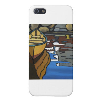 Yellow Dory Reflections Cover For iPhone 5