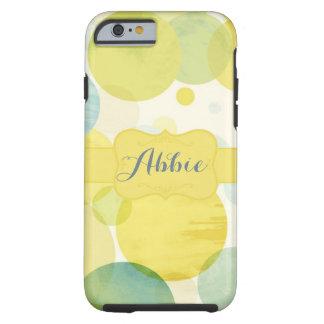 Yellow dot tough iPhone 6 case