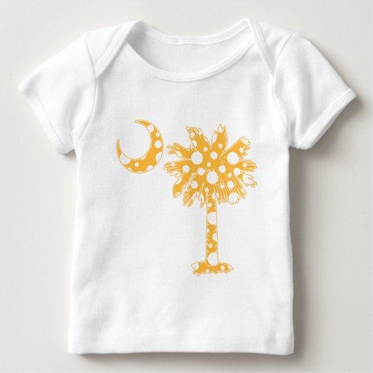 Yellow Dots Palmetto Baby T-Shirt