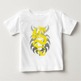 Yellow Dragon Baby T-Shirt