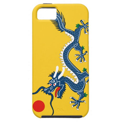 yellow dragon iPhone 5 cover