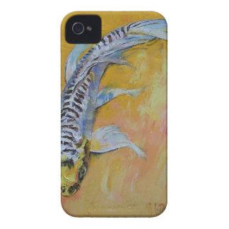 Yellow Dragon Koi iPhone 4 Case-Mate Cases