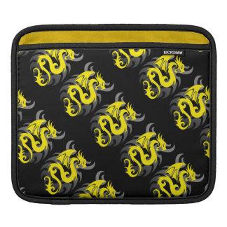 Yellow Dragon Sleeve For iPads