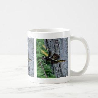 Yellow Dragonfly 15 Oz. Mug